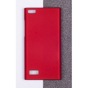 Coque De Protection Rigide Rouge Pour BlackBerry Leap