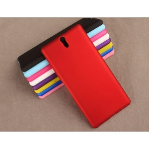 Coque De Protection Rigide Rouge Pour Sony Xperia C5 Ultra