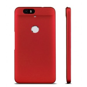 Coque De Protection Rigide Rouge Pour Google Nexus 6P