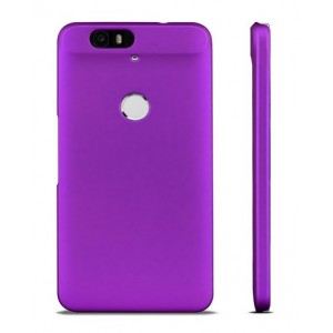 Coque De Protection Rigide Violet Pour Google Nexus 6P