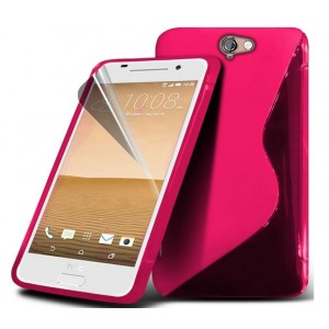 Coque De Protection En Silicone Rose Pour HTC One A9