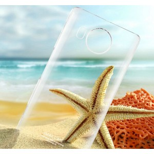Coque De Protection Rigide Transparent Pour Microsoft Lumia 950 XL