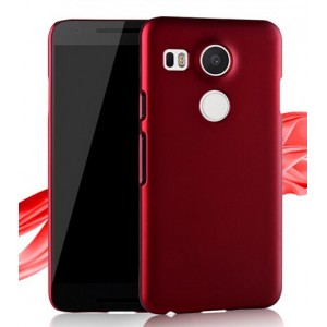 Coque De Protection Rigide Rouge Pour Nexus 5X