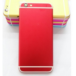 Cache Batterie Pour iPhone 6s - Rouge