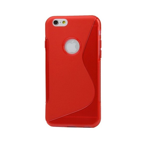 coque protection silicone rouge iphone 6s plus. Black Bedroom Furniture Sets. Home Design Ideas