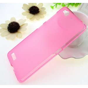 Coque De Protection En Silicone Rose Pour ZTE Nubia My Prague
