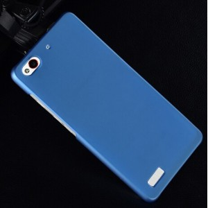 Coque De Protection Rigide Bleu Pour ZTE Nubia My Prague