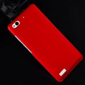 Coque De Protection Rigide Rouge Pour ZTE Nubia My Prague