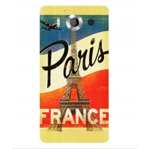 Coque De Protection Paris Vintage Pour Microsoft Lumia 950