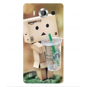Coque De Protection Amazon Starbucks Pour Microsoft Lumia 950