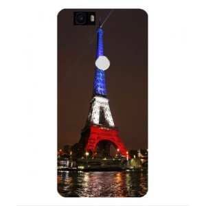 Coque De Protection Tour Eiffel Couleurs France Pour Google Nexus 6P