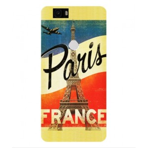 Coque De Protection Paris Vintage Pour Google Nexus 6P