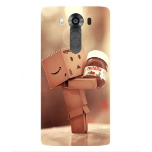 Coque De Protection Amazon Nutella Pour LG V10