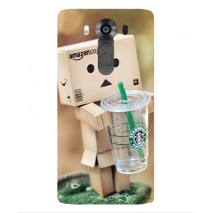 Coque De Protection Amazon Starbucks Pour LG V10