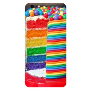Coque De Protection Gâteau Multicolore Pour iPhone 6 Plus