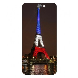 Coque De Protection Tour Eiffel Couleurs France Pour HTC One A9