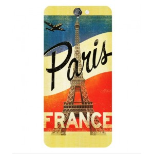 Coque De Protection Paris Vintage Pour HTC One A9