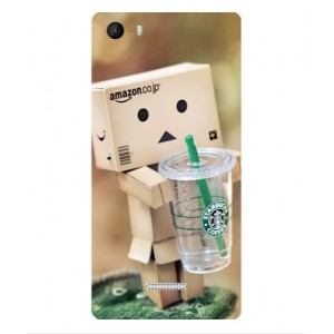 Coque De Protection Amazon Starbucks Pour Wiko Fever 4G