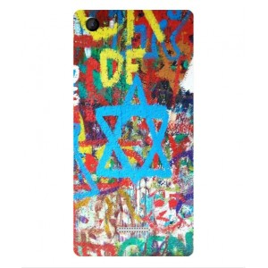 Coque De Protection Graffiti Tel-Aviv Pour Wiko Fever 4G