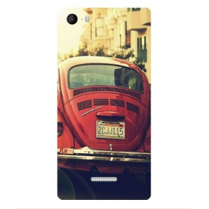 Coque De Protection Voiture Beetle Vintage Wiko Fever 4G