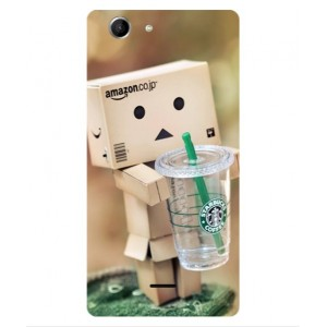 Coque De Protection Amazon Starbucks Pour Wiko Pulp 3G