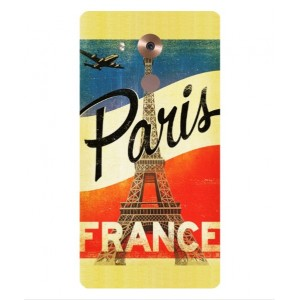 Coque De Protection Paris Vintage Pour Huawei Mate 8