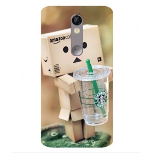 Coque De Protection Amazon Starbucks Pour Motorola Moto X Force