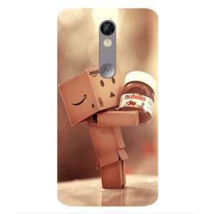 Coque De Protection Amazon Nutella Pour Motorola Moto X Force