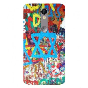Coque De Protection Graffiti Tel-Aviv Pour Motorola Moto X Force