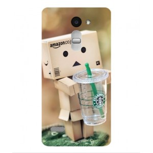 Coque De Protection Amazon Starbucks Pour LG Ray