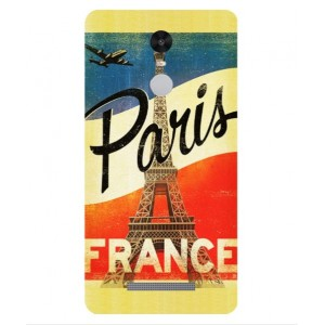 Coque De Protection Paris Vintage Pour Xiaomi Redmi Note 3