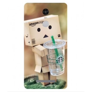 Coque De Protection Amazon Starbucks Pour Xiaomi Redmi Note 3