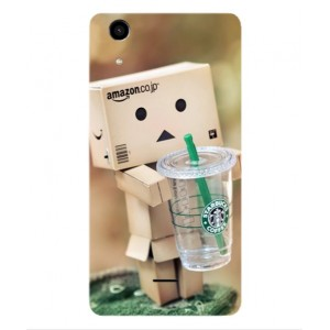 Coque De Protection Amazon Starbucks Pour Wiko Rainbow Lite