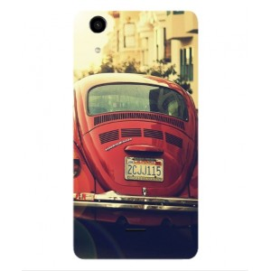 Coque De Protection Voiture Beetle Vintage Wiko Rainbow Lite