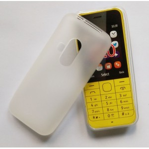 Coque De Protection En Silicone Transparent Pour Nokia 220