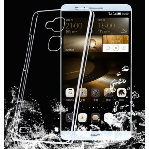 Coque De Protection Rigide Transparent Pour Huawei Mate 8
