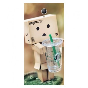 Coque De Protection Amazon Starbucks Pour SFR Star Edition Startrail 6 Plus