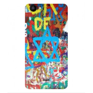 Coque De Protection Graffiti Tel-Aviv Pour Wiko Rainbow Jam