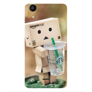 Coque De Protection Amazon Starbucks Pour Wiko Rainbow Jam 4G