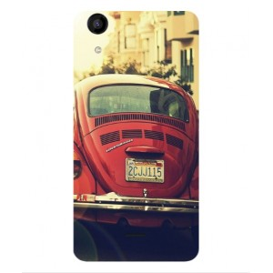 Coque De Protection Voiture Beetle Vintage Wiko Rainbow Jam 4G