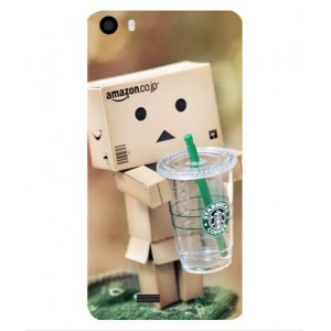 Coque De Protection Amazon Starbucks Pour Wiko Lenny