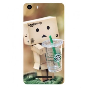 Coque De Protection Amazon Starbucks Pour Wiko Lenny 2