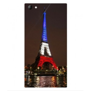 Coque De Protection Tour Eiffel Couleurs France Pour Wiko Highway Star 4G