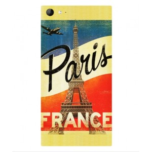 Coque De Protection Paris Vintage Pour Wiko Highway Star 4G