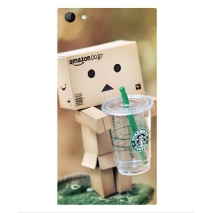 Coque De Protection Amazon Starbucks Pour Wiko Highway Star 4G