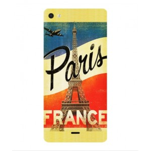 Coque De Protection Paris Vintage Pour Wiko Highway Pure 4G