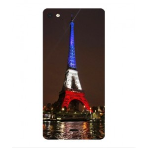 Coque De Protection Tour Eiffel Couleurs France Pour Wiko Highway Pure 4G