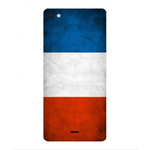 Coque De Protection Drapeau De La France Pour Wiko Highway Pure 4G