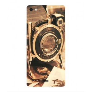Coque De Protection Appareil Photo Vintage Pour Wiko Highway Pure 4G
