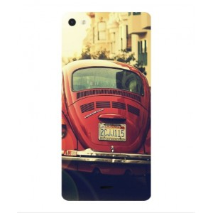 Coque De Protection Voiture Beetle Vintage Wiko Highway Pure 4G